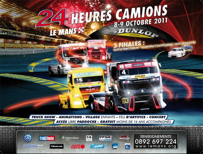calendrier 2011 team robineau truck racing team coupe de france de camions de course. Black Bedroom Furniture Sets. Home Design Ideas